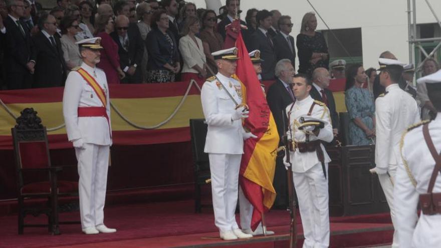 La Escuela Naval reduce el formato de la ceremonia del Carmen por el COVID