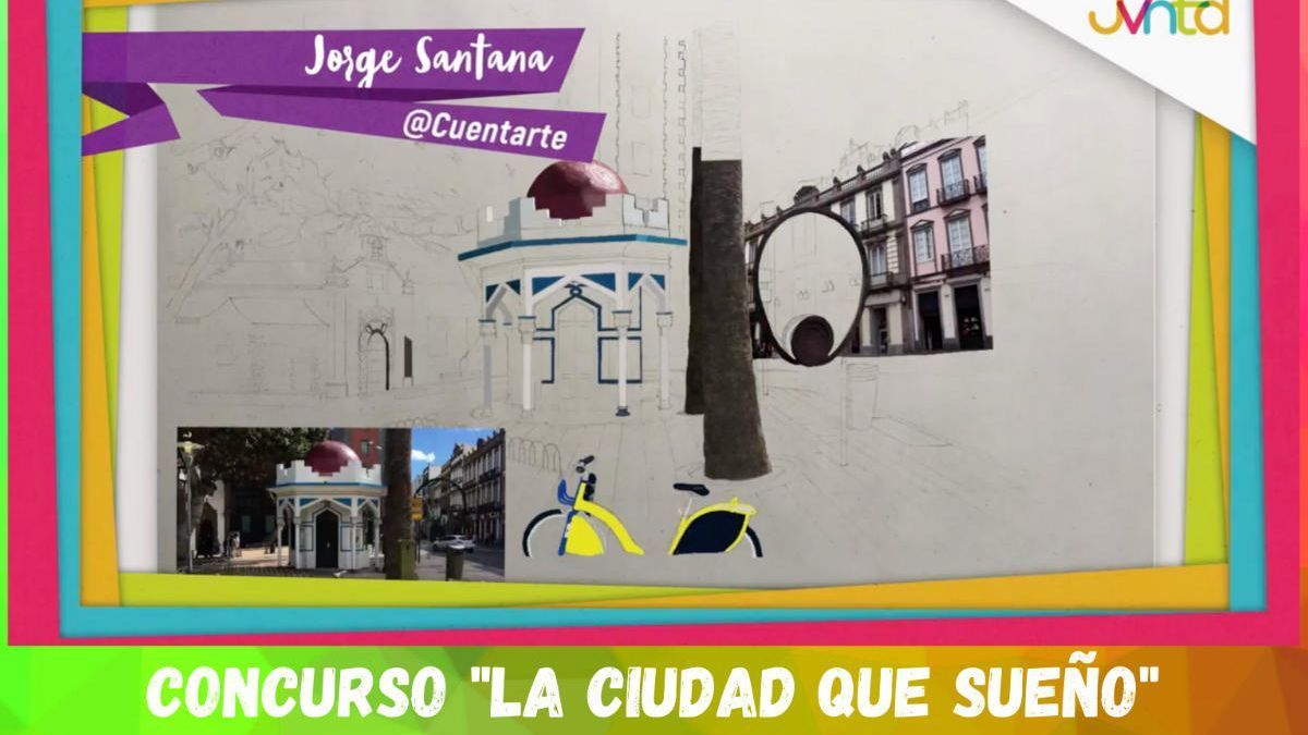Cartel del certamen de pintura 'La ciudad con la que sueño'