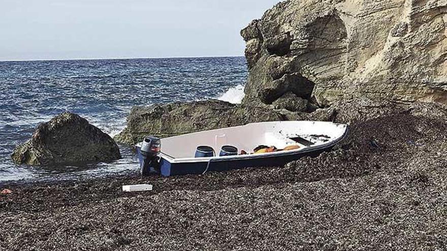 La llegada de pateras a Baleares  se ha duplicado en este último año