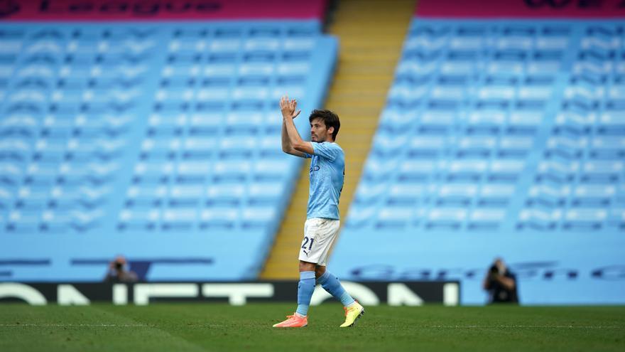 El Manchester City pondrá una estatua de David Silva en su estadio