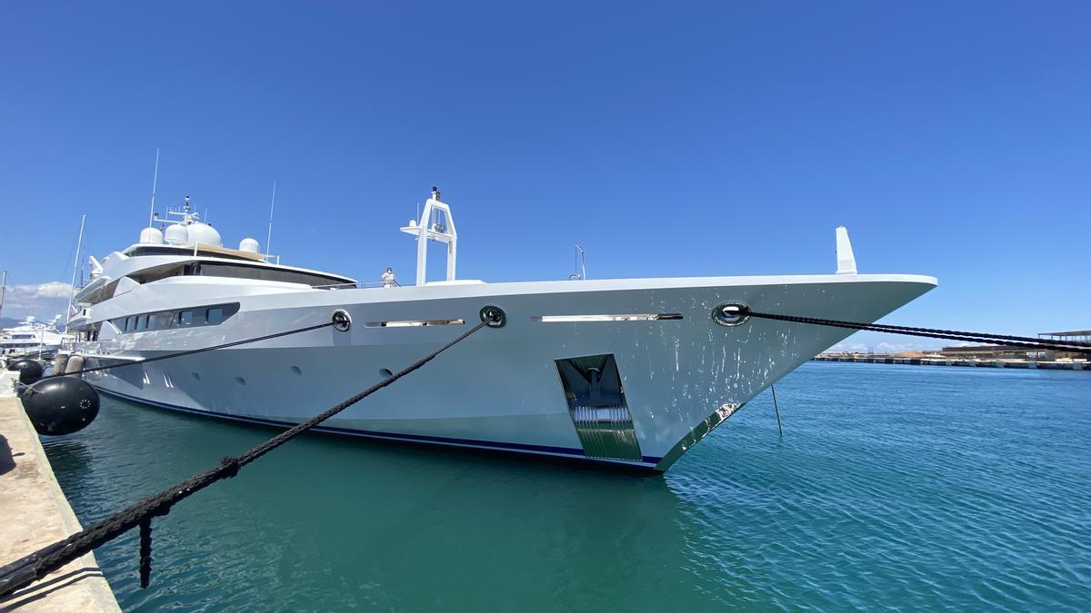 'Yasmine of the sea', del confinamiento por Covid-19 en Mallorca a los astilleros de Navantia