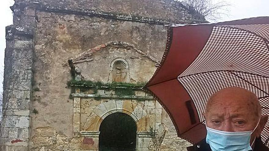 Patrimonio pide al Obispado que actúe para evitar más daños en San Cipriano (Piloña)