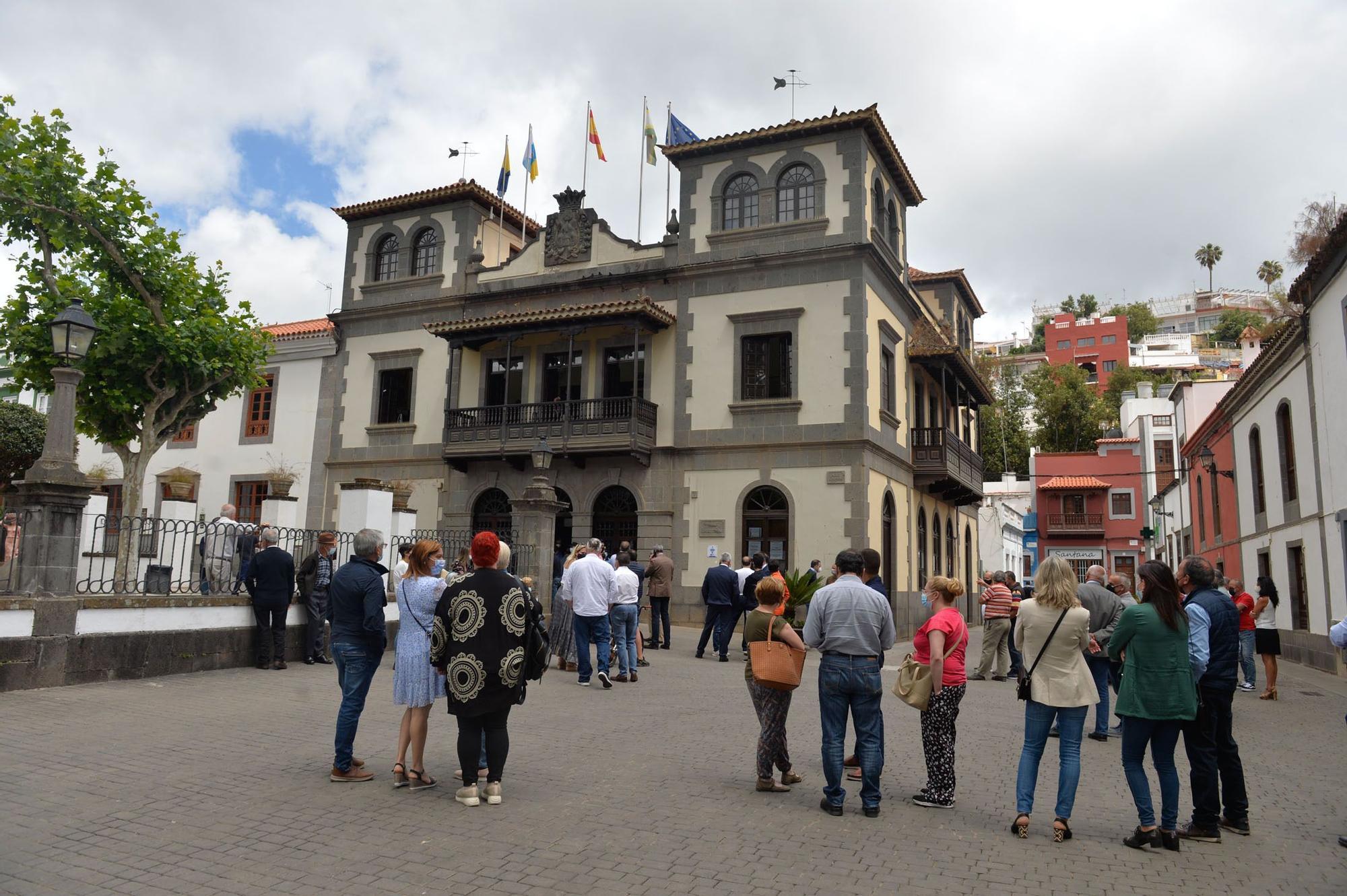 Toma de posesión de Sergio Nuez como alcalde de Teror
