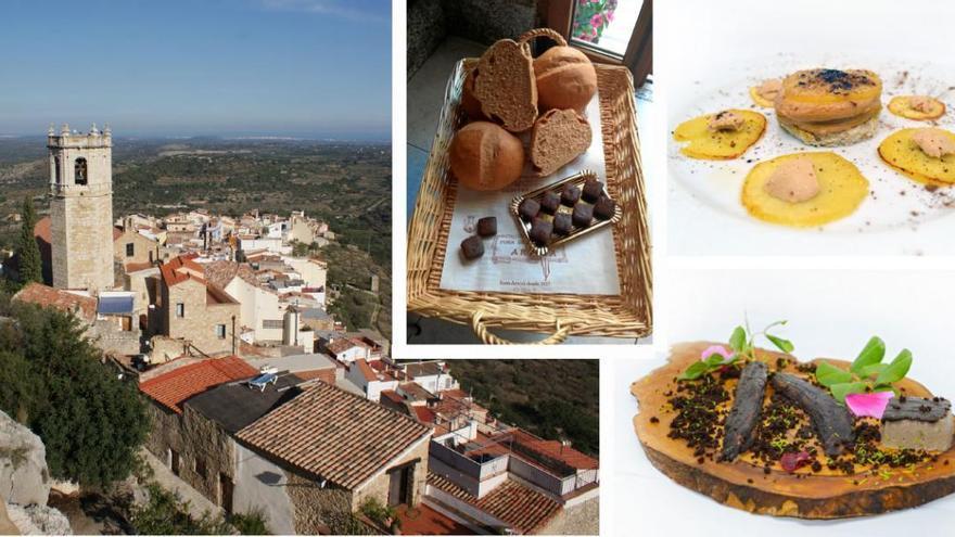La algarroba, convertida en manjar en un pueblo de Castellón