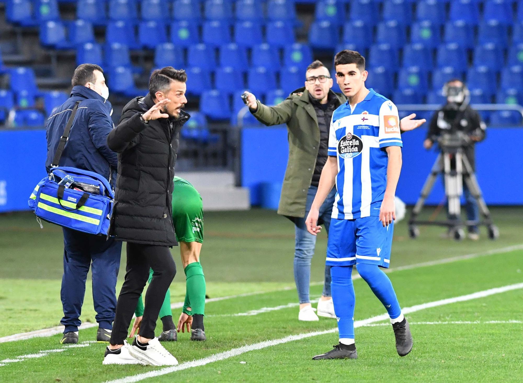 El Deportivo cae (0-2) ante el Compostela