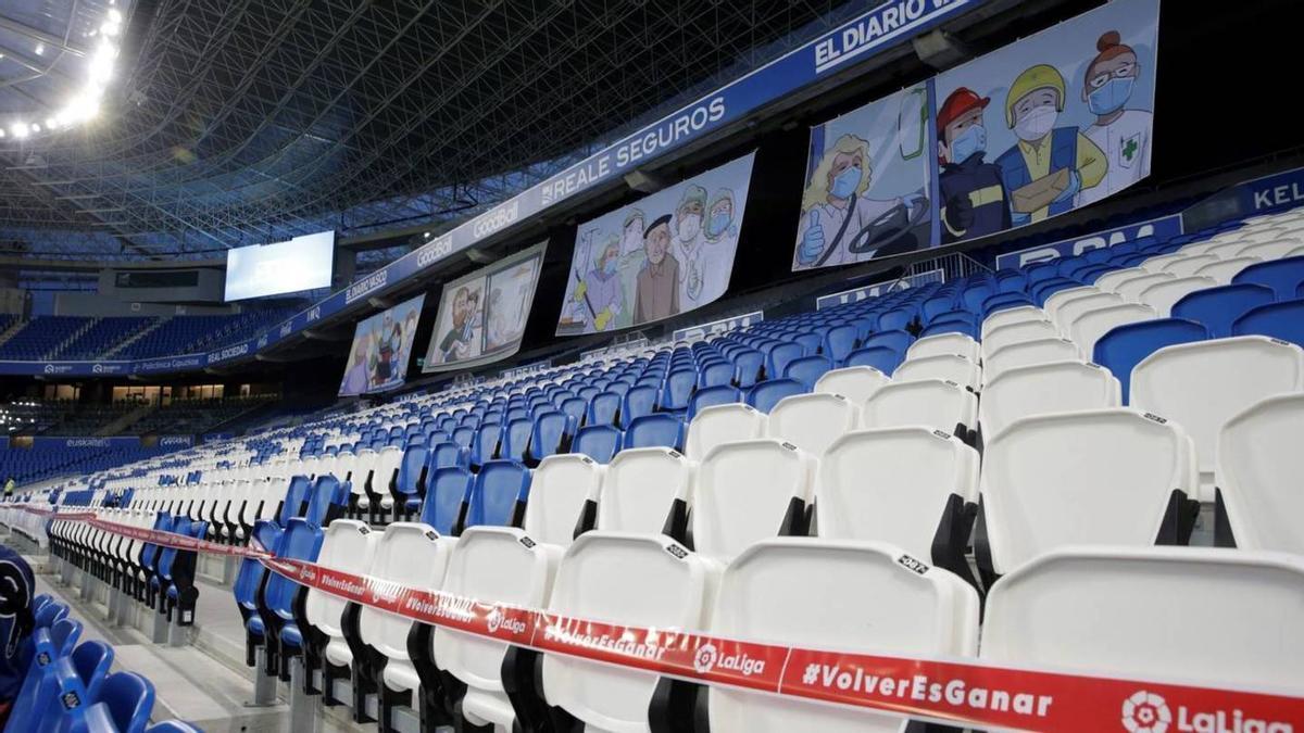Desde marzo de 2020 el público no pisa un estadio de fútbol para animar a su equipo