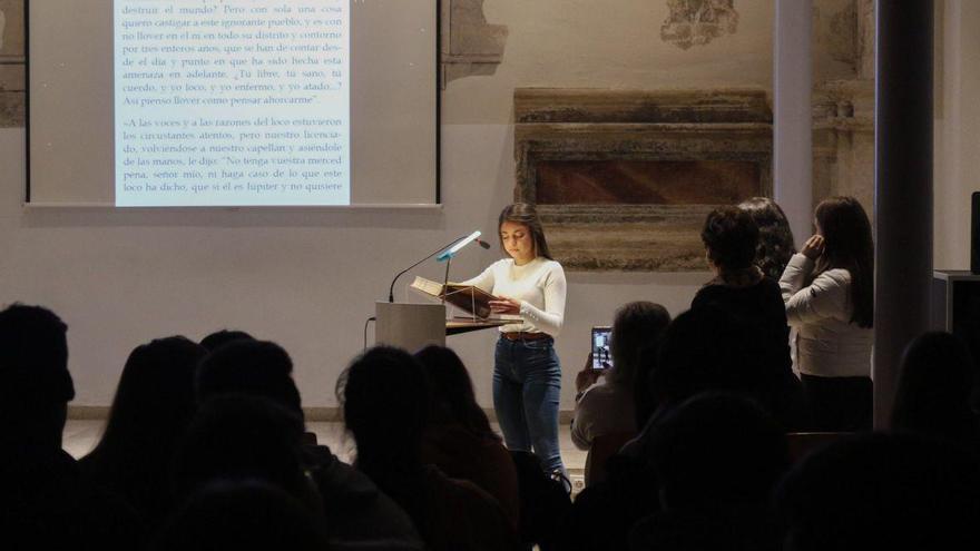 Más de 130 zamoranos participan en la lectura de El Quijote