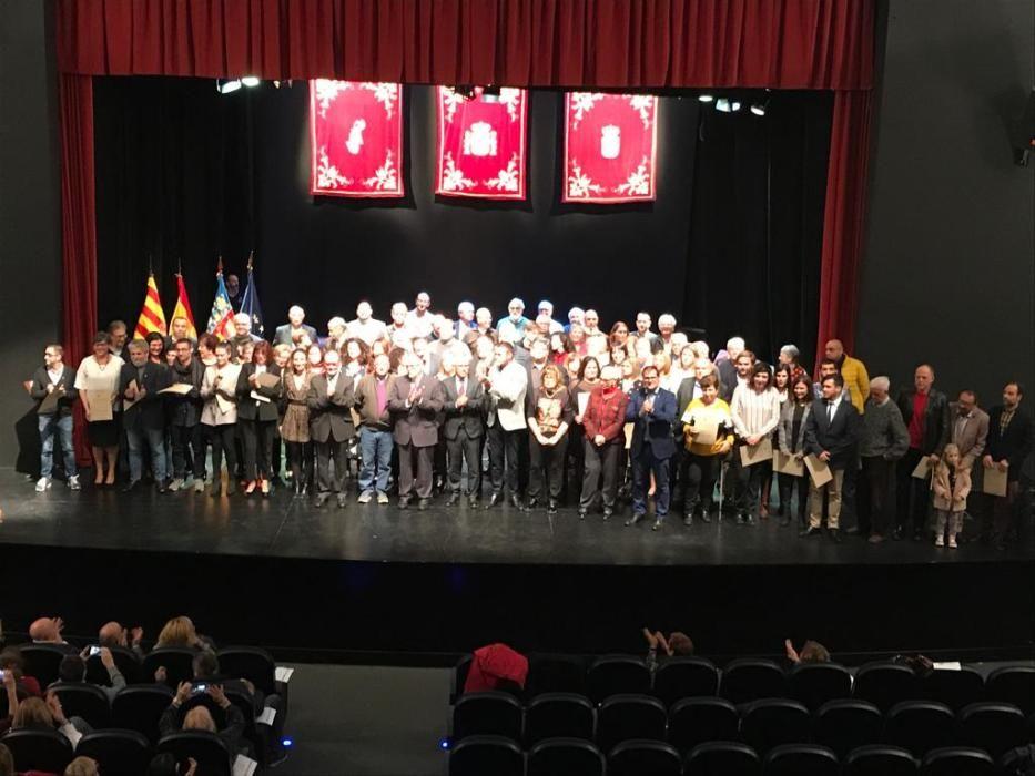 Conmemoración 40 años de democracia en El Campello
