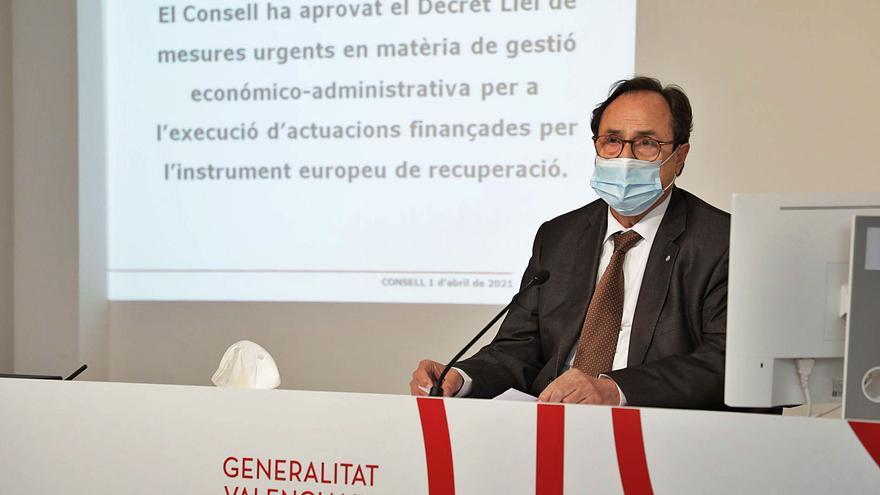 El Consell tramitará por vía de urgencia los proyectos que optan a fondos europeos