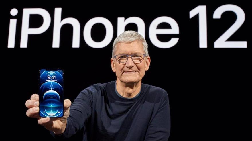 La pandemia y el iPhone 12 dan a Apple el mejor trimestre de su historia