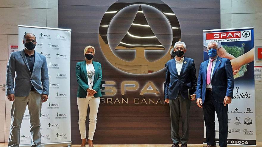 Spar Gran Canaria y la AECC se unen para promover hábitos saludables