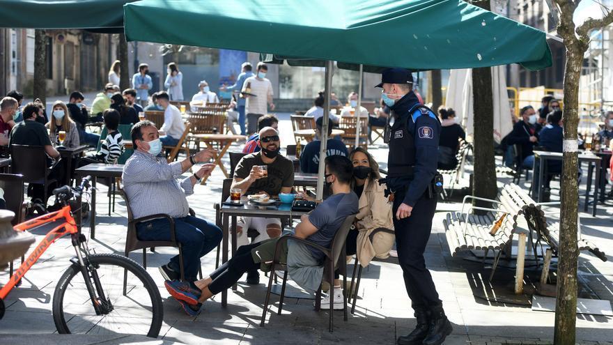 Tramitan más de 300 sanciones en Galicia por incumplimientos en hostelería el fin de semana