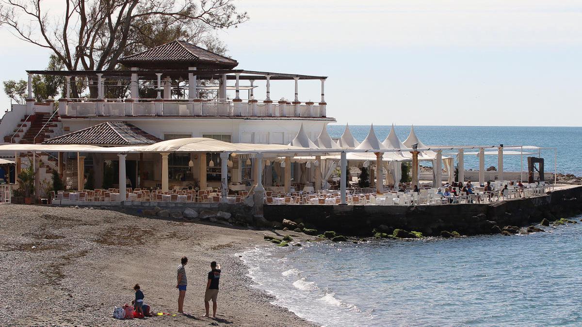 Vista de los Baños del Carmen.
