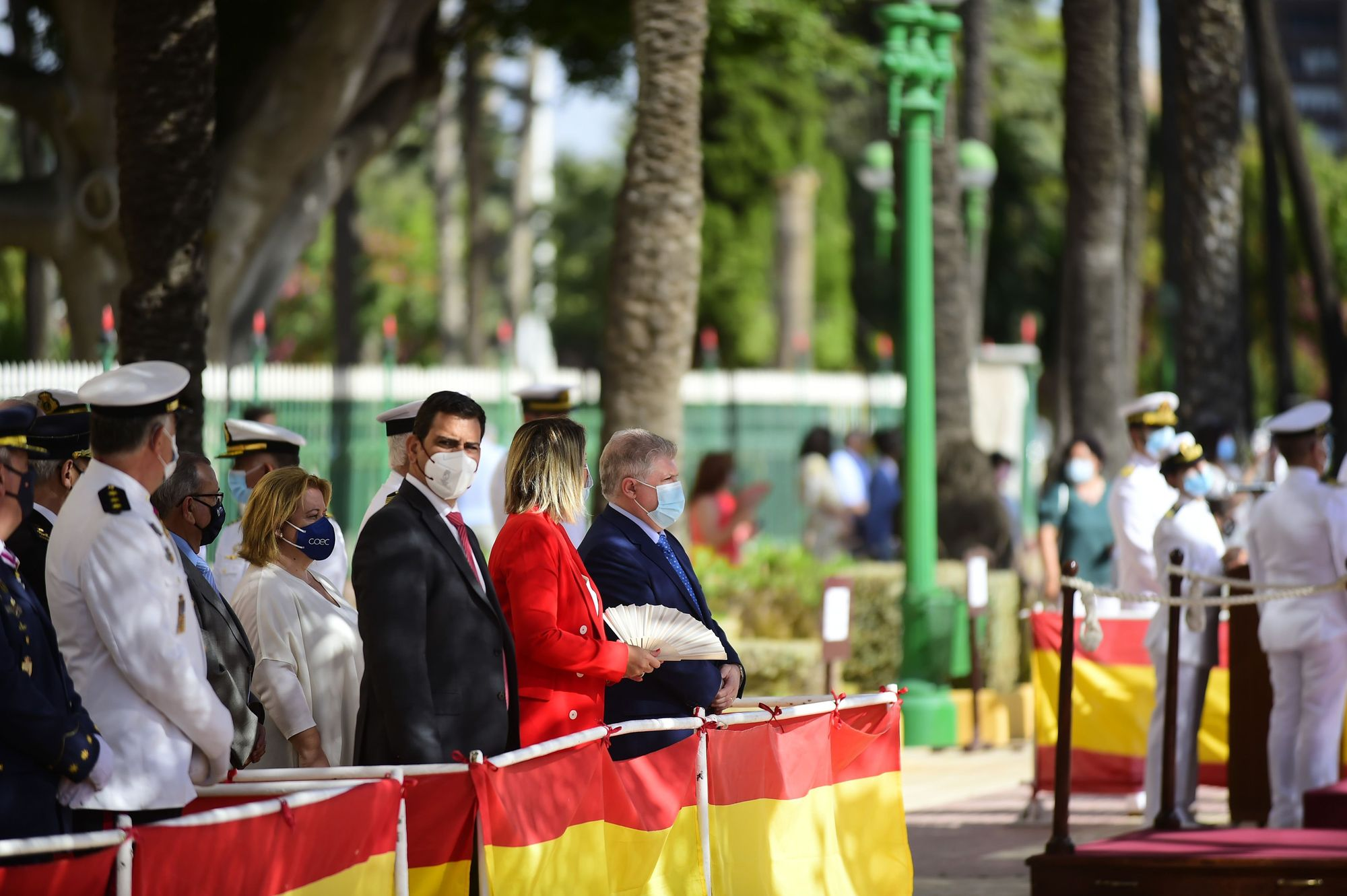 Festividad del Carmen en el Arsenal de Cartagena