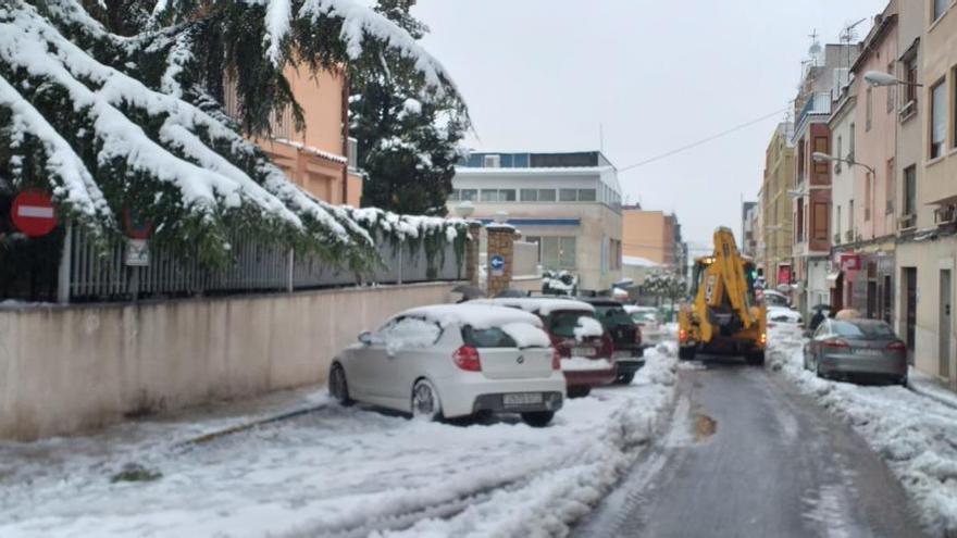 La borrasca obliga a suspender la actividad en los tres quirófanos de Ontinyent