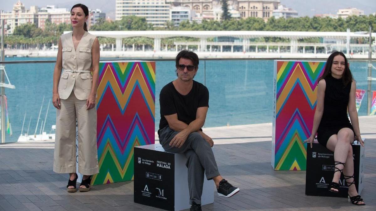 Mañas ha presentado su filme en el Festival de Málaga.