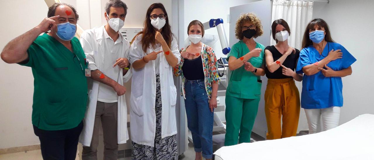 El Servicio de Dermatología del hospital se ha sumado a la iniciativa #MisiónAmarte