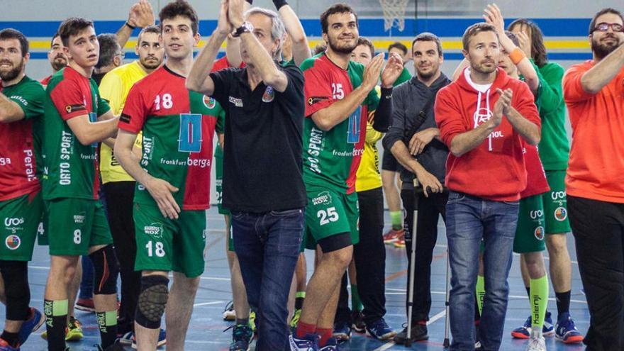 Els jugadors de l'Handbol Berga donen negatiu però mantindran la quarentena