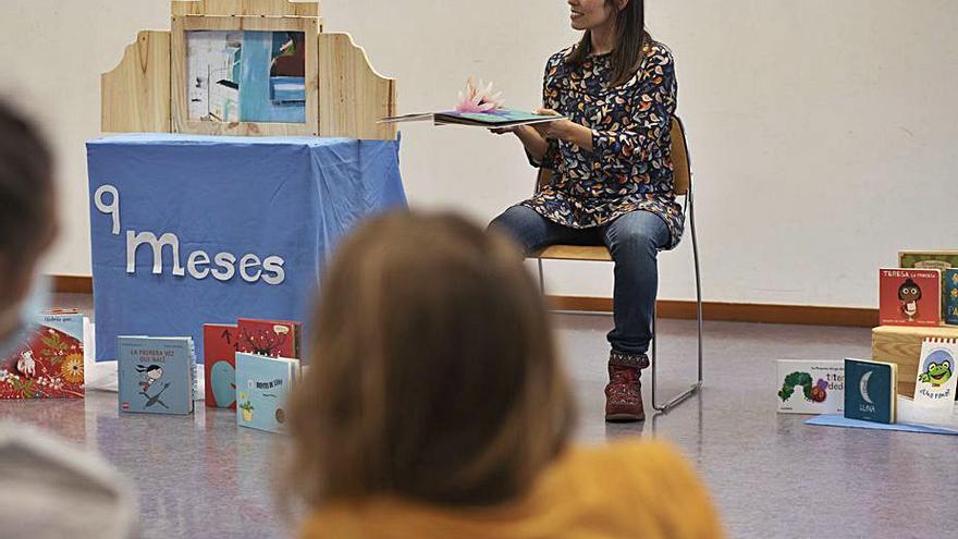 Las futuras madres y los bebés,  protagonistas en la Biblioteca Pública de Zamora