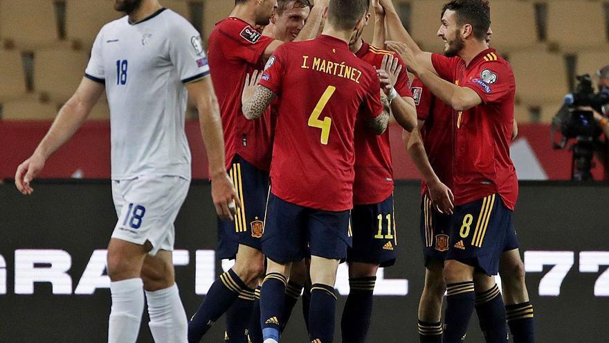 España disipa dudas ante Kosovo