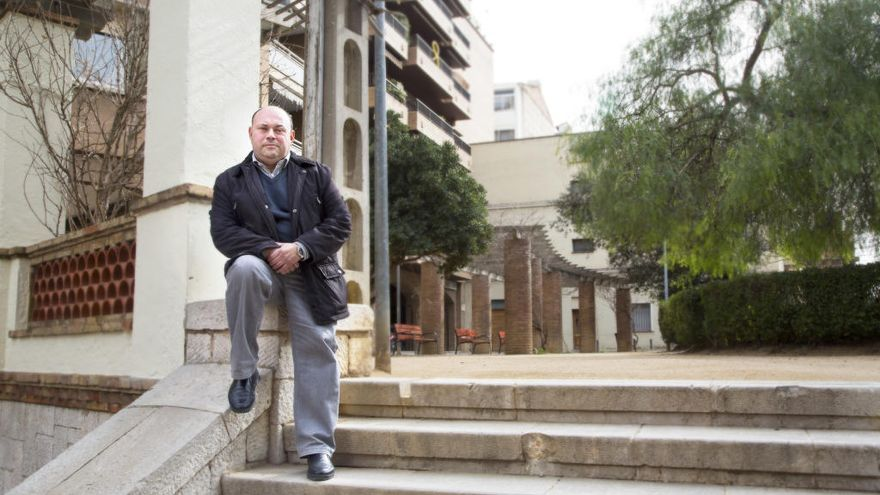 El regidor en funcions del PP a Figueres, Diego Borrego, es proposa de president local