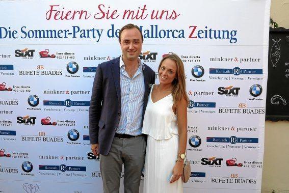 Constantin Wischnath und Clara Buj