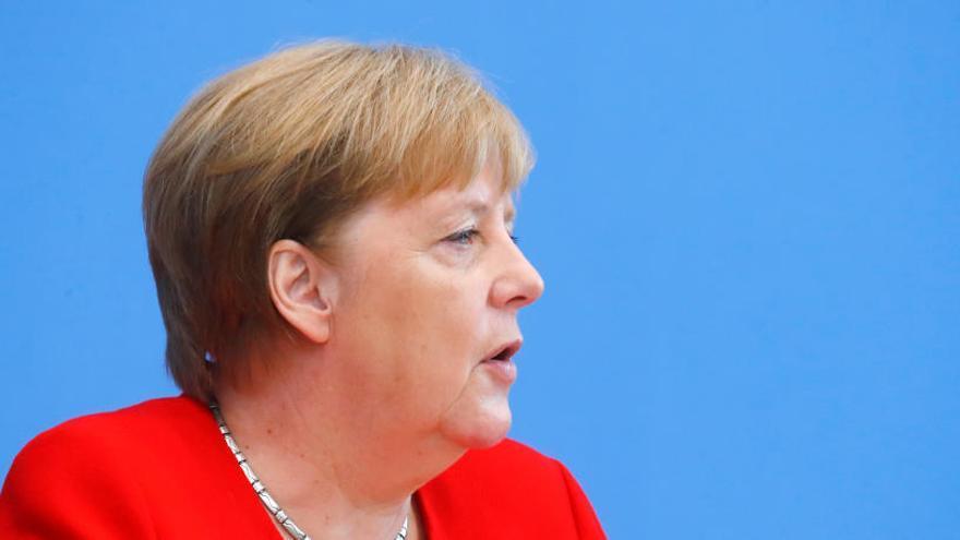 Merkel, sobre el seu estat de salut: «Em sento bé i puc fer la meva feina»