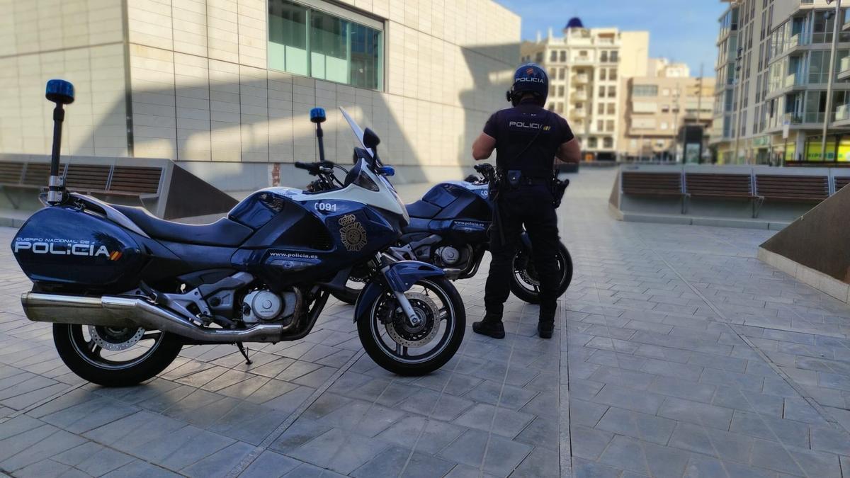 Imagen de archivo de un policía.