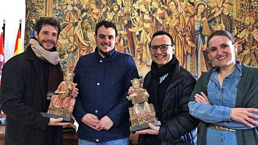 Michel Camilo y Andrés Salado visitan Toro para rememorar su amistad con López Cobos
