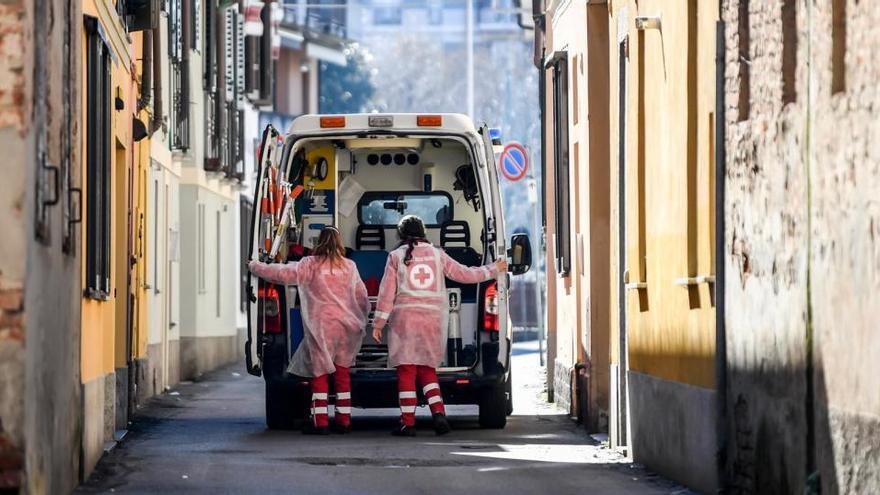 Italia incrementa sus fallecidos diarios con 620 en las últimas 24 horas