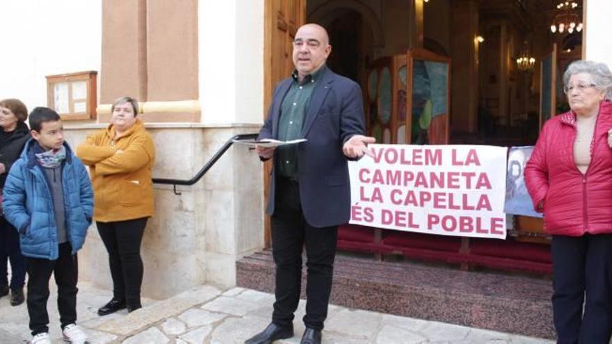Villalonga Concentración por propiedad pública de la capilla de  la Mare de Déu