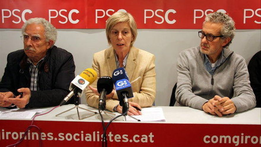 """Consol Cantenys defensa la seva candidatura a liderar el PSC perquè Lamuà ja té """"molta feina"""" a Madrid"""