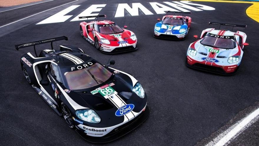 Estos son los diseños especiales de Ford para las 24 Horas de Le Mans 2019