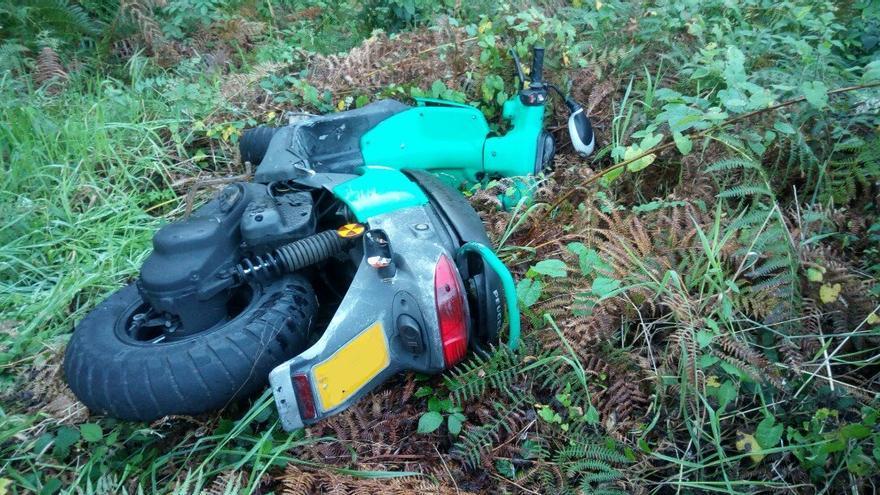 El misterioso caso de la moto robada y escondida en Cabral