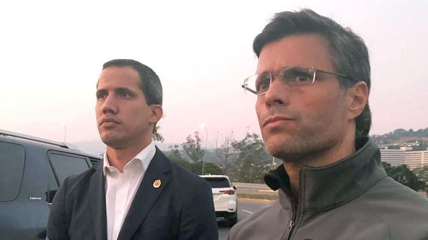 Venezuela acusa a Leopoldo López de planear un ataque con bombas al Parlamento