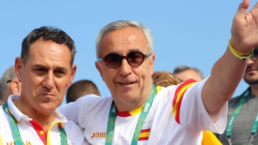 """El presidente de la Española de Piragüismo, Román Mangas, asegura que """"el aplazamiento de los Juegos es lo mejor para los deportistas"""""""