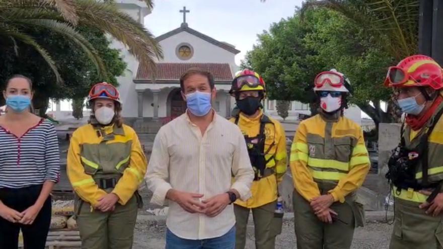 Información para los vecinos de Todoque evacuados por la erupción