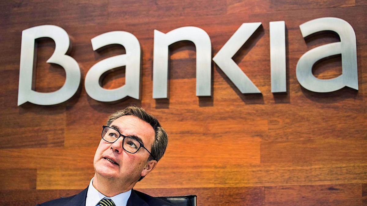 José Sevilla, consejero delegado de Bankia, ayer.   EFE/ MÁXIMO GARCÍA DE LA PAZ