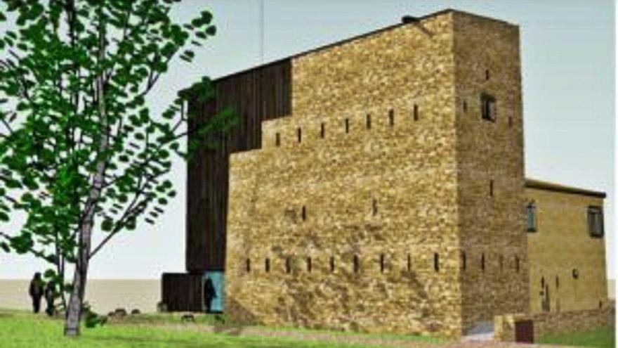 Celrà adjudica les obres que retornaran la forma a la torre romànica Desvern