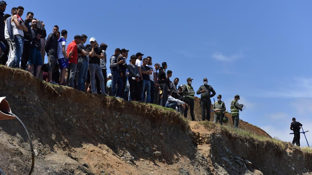 Más de 8.000 migrantes entrar en España de forma irregular en apenas 40 horas.