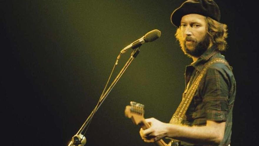 Clapton, un dios muy humano