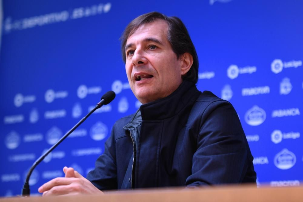 Sabin Merino, presentado con el Dépor