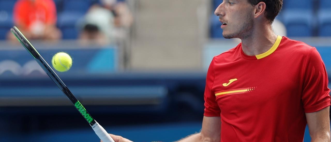 Semifinal de tenis de los Juegos de Tokio 2020   Khachanov - Carreño