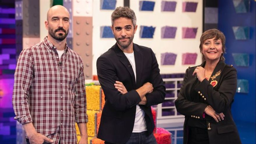 Antena 3 comienza con la grabación de 'Lego Masters', con Eva Hache en su jurado