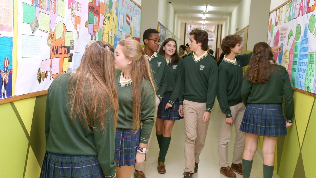 Idiomas, valores y formación integral, señas de identidad del colegio en Vigo Los Sauces.