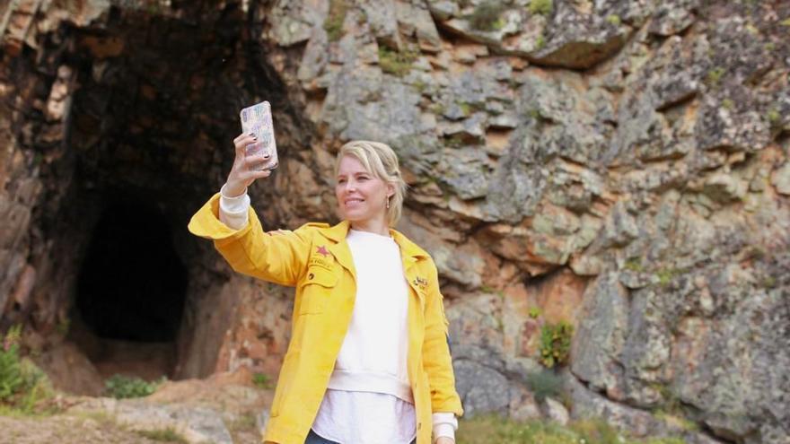Soraya Arnelas promociona en cuatro vídeos el turismo del Tajo Internacional