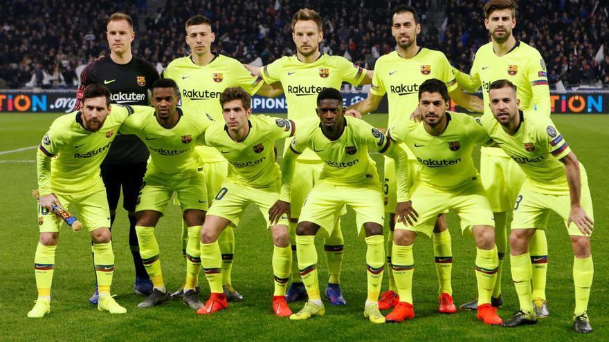 El Barcelona paga su falta de gol y deja vivo al Lyon