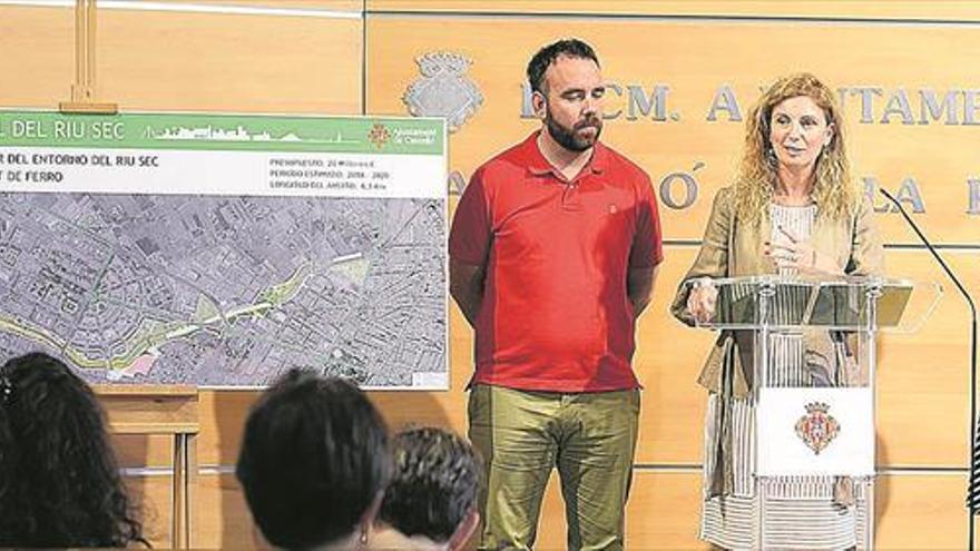 Castellón invertirá 20 millones en 10 años para que el Riu Sec sea un corredor verde