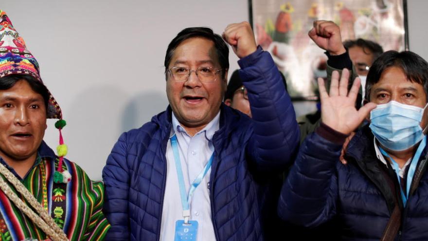 El partit d'Evo Morales guanya les eleccions presidencials a Bolívia, segons els sondejos a peu d'urna