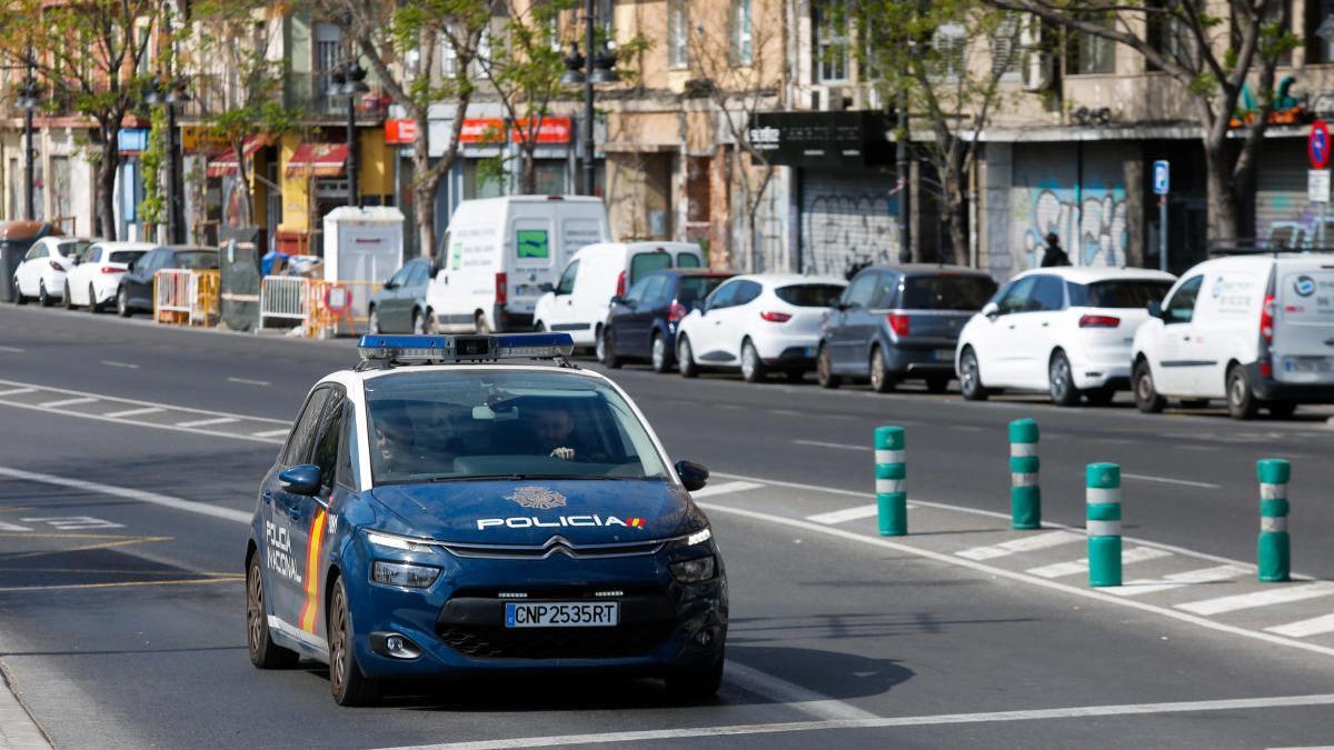 El agresor ha sido detenido por la Policía Nacional en València.